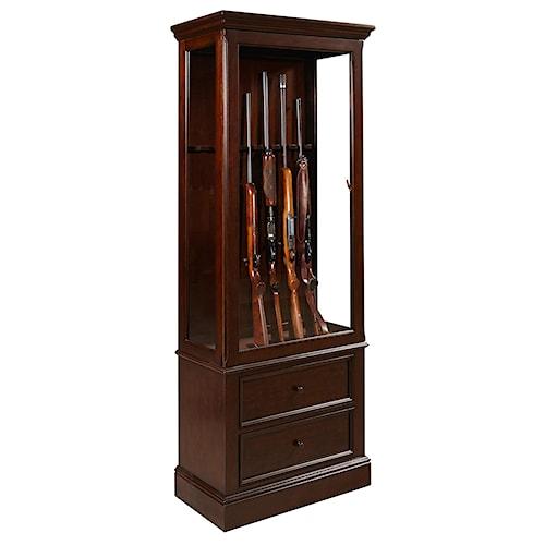 Pulaski Furniture Curios Gun Curio Cabinet