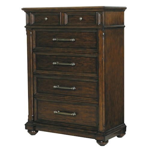 Pulaski Furniture Durango Ridge Tall 6-Drawer Chest