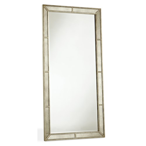 Pulaski Furniture Farrah Beveled Floor Mirror