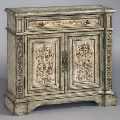 Pulaski Furniture Accents Hall Chest with Two Doors and Center Drawer
