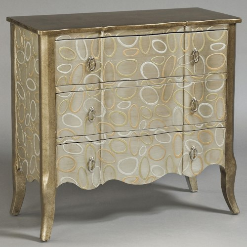 Pulaski Furniture Accents Accent Chest with Patterned Finish