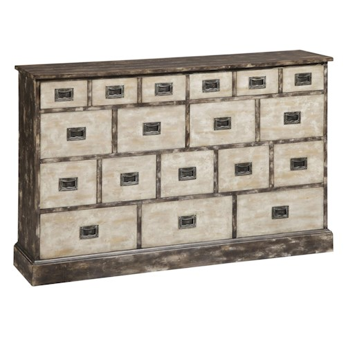 Pulaski Furniture Accents Ackerman Eight Drawer Hall Chest