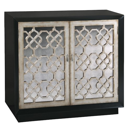 Pulaski Furniture Accents Lyla Mirrored Front Accent Chest