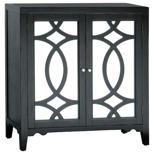Pulaski Furniture Accents Broadway Accent Chest with Interlocking Circle Motiff