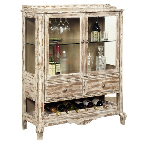 Pulaski Furniture Accents Conner Wine Cabinet