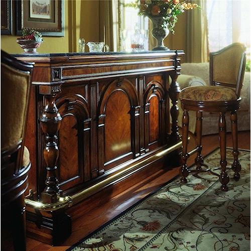 Pulaski Furniture Accents Carlton Manor Bar