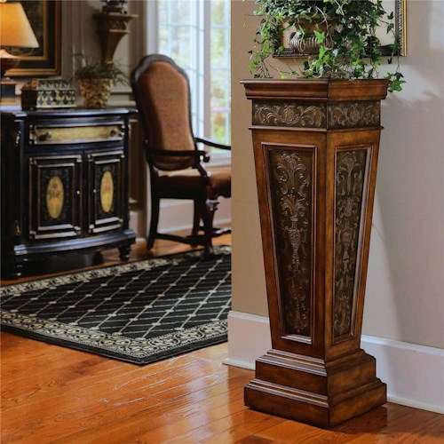Pulaski Furniture Accents Nugget Pedestal
