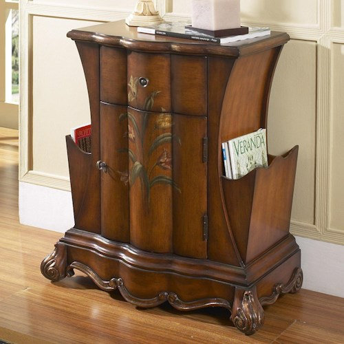 Pulaski Furniture Accents Accent Chest with Magazine Storage