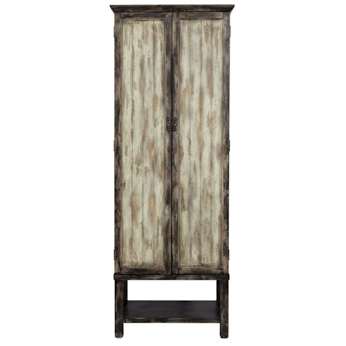 Pulaski Furniture Accents Tall Rutledge Pantry Cabinet