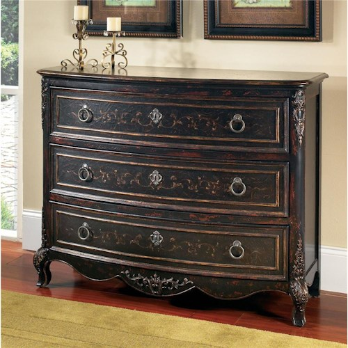Pulaski Furniture Accents Versailles Black Drawer Chest