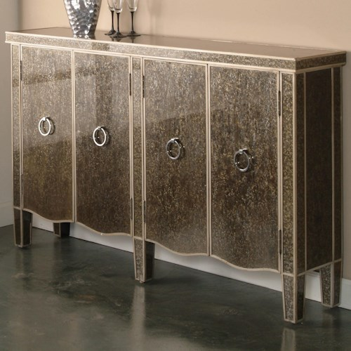Pulaski Furniture Accents Tiara Console Table with Doors