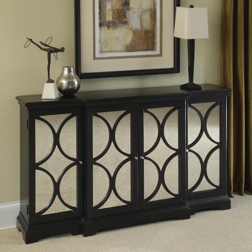 Pulaski Furniture Accents Four Door Accent Chest