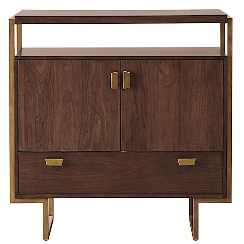 Pulaski Furniture Modern Harmony Mid Century Modern Media Chest