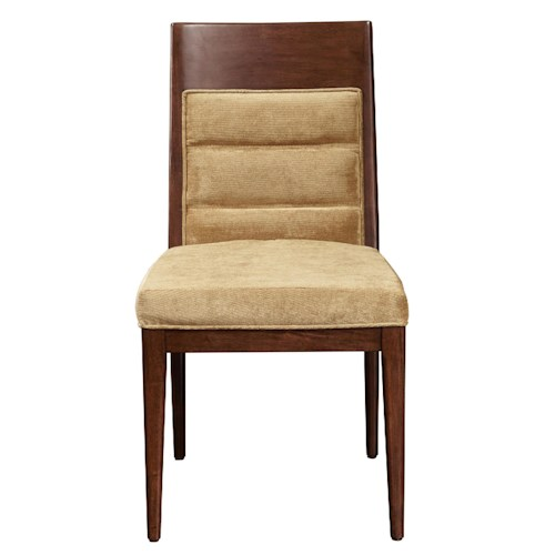 Pulaski Furniture Modern Harmony Large Side Chair w/ Upholstered Seat