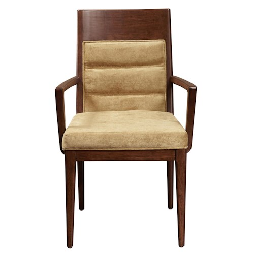 Pulaski Furniture Modern Harmony Large Arm Chair w/ Upholstered Seat