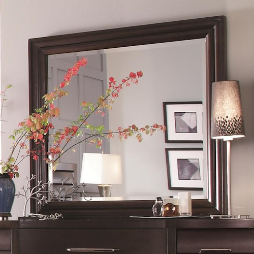 Pulaski Furniture Tangerine  Wood Framed Mirror