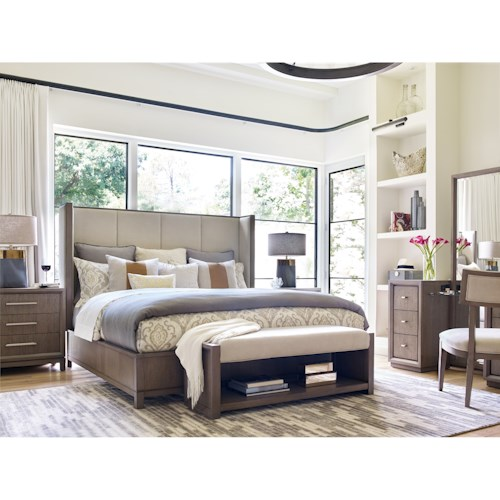 Rachael Ray Home Highline California King Bedroom Group