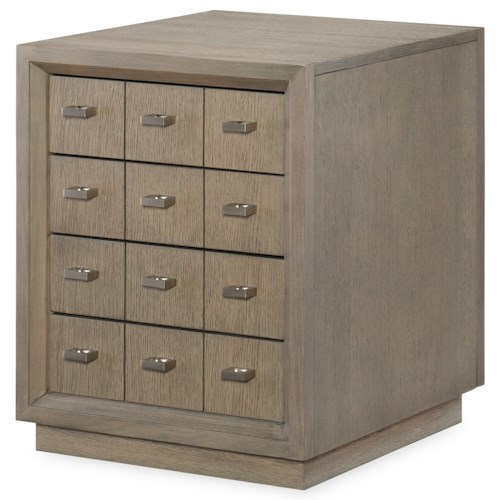 Rachael Ray Home Highline Side Table with 4 Drawers