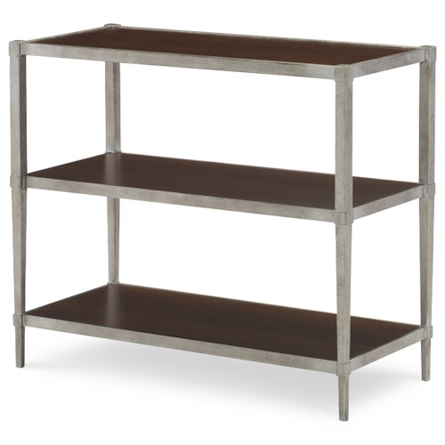 Rachael Ray Home Upstate Book Table with Three Shelves