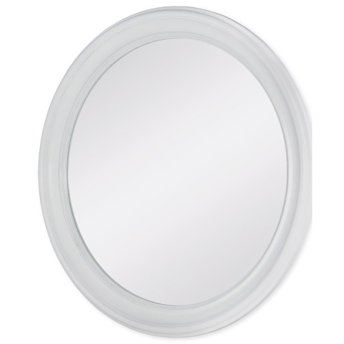 Rachael Ray Home by Legacy Classic Upstate Round Mirror with Wood Frame