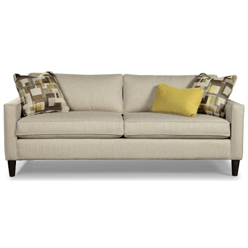Rachael Ray Home by Craftmaster R7605 Contemporary Two Seat Sofa