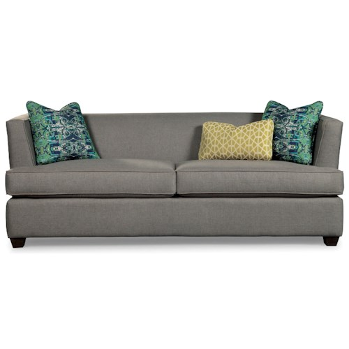 Rachael Ray Home by Craftmaster Soho Contemporary Tuxedo Back Sofa