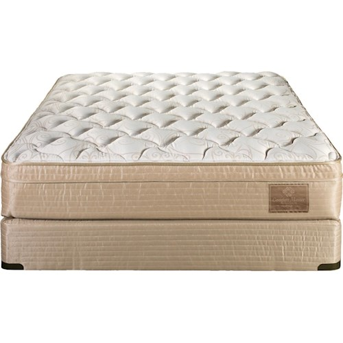 Restonic ComfortCare King Orthopedic 3000 Pillow Top Mattress