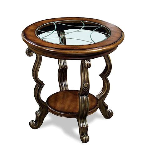 Riverside Furniture Ambrosia Round SideTable