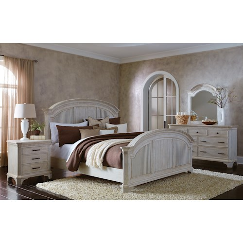 Riverside Furniture Aberdeen King Bedroom Group 2