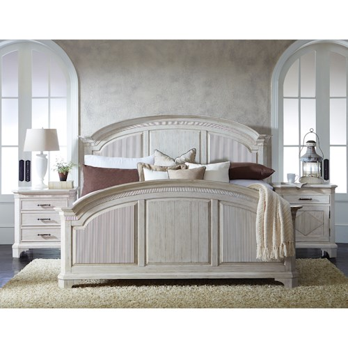 Riverside Furniture Aberdeen California King Bedroom Group 4