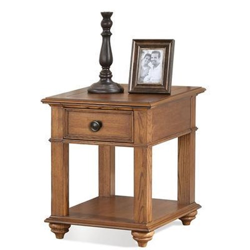 Riverside Furniture Allegheny  1 Drawer End Table