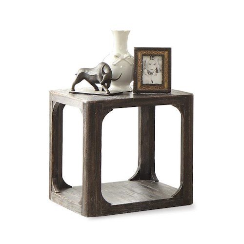Riverside Furniture Bellagio Square End Table