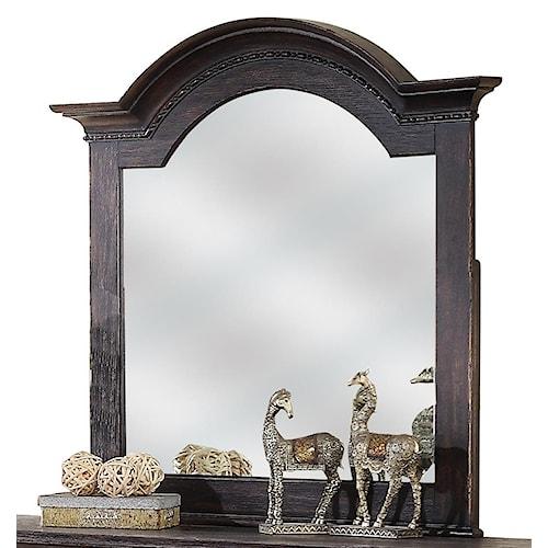 Riverside Furniture Bellagio Arch Dresser Mirror