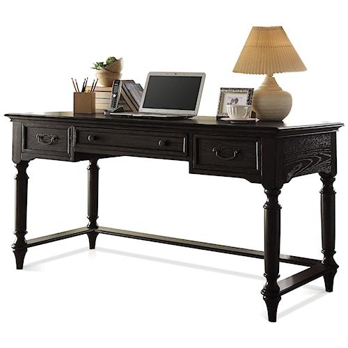 Riverside Furniture Belmeade Traditional Writing Desk w/ Outlet