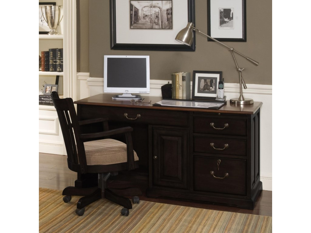 Shown with Single Pedestal Desk