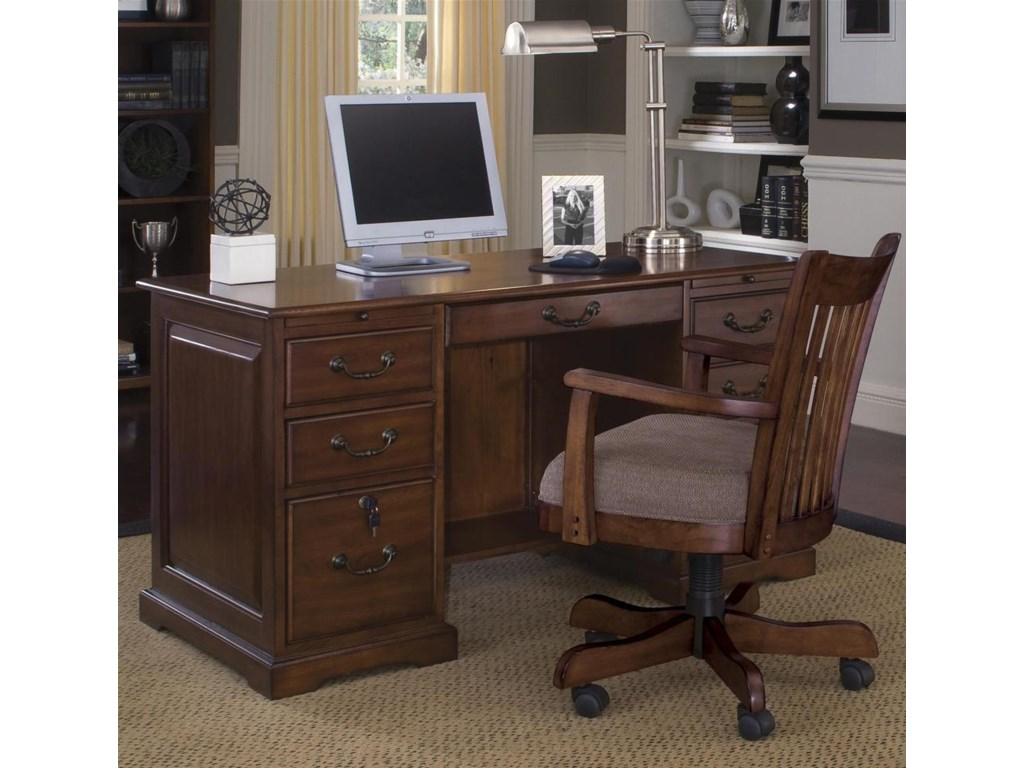 Pair with Swivel Desk Chair