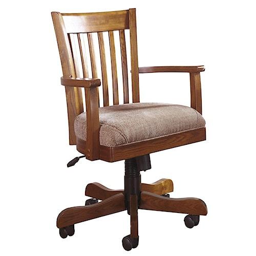 Riverside Furniture Cantata Swivel Desk Chair