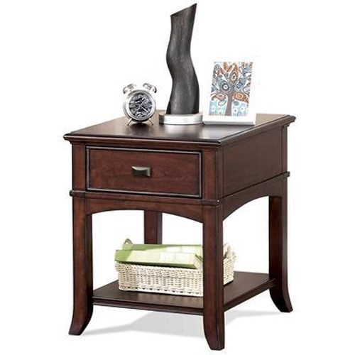 Riverside Furniture Canterbury End Table with Drawer