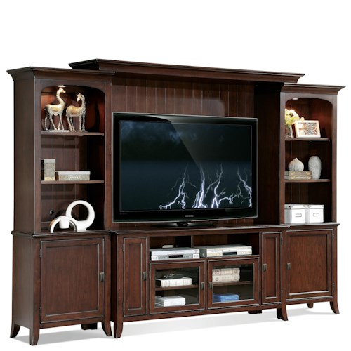 Riverside Furniture Canterbury 63-Inch TV Wall Console