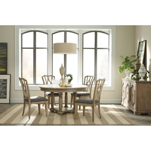 Riverside Furniture Corinne Casual Dining Room Group 2