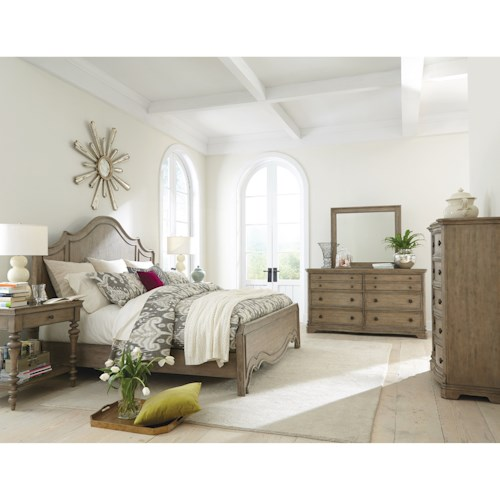 Riverside Furniture Corinne California King Bedroom Group 1