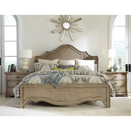 Riverside Furniture Corinne King Bedroom Group 2