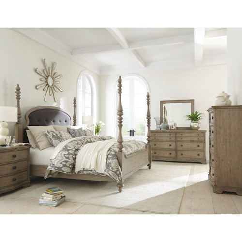 Riverside Furniture Corinne California King Bedroom Group 3