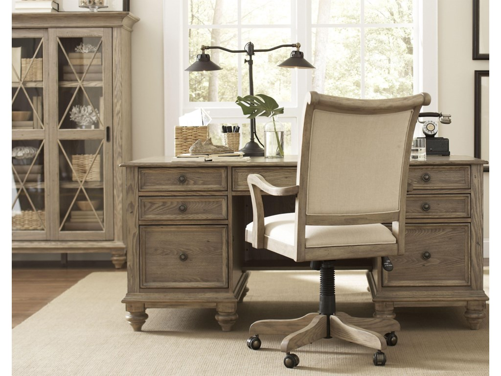 Shown with Desk & Office Chair