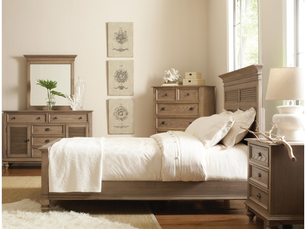 Shown  with Chest, Panel Bed & Night Stand
