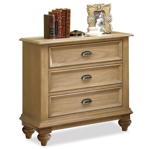 Riverside Furniture Coventry 3 Drawer Night Stand