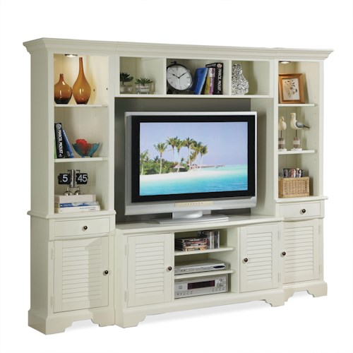 Riverside Furniture Essex Point Entertainment Wall Unit