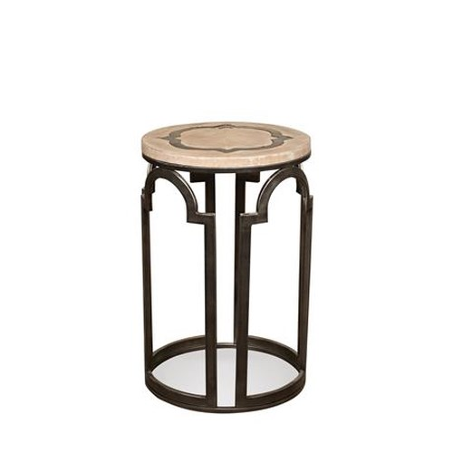 Riverside Furniture Estelle Round Chairside Table