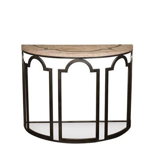 Riverside Furniture Estelle Demilune Sofa Table