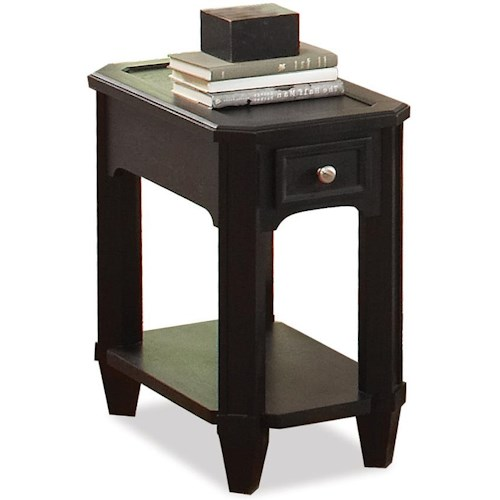 Riverside Furniture Farrington 1 Drawer Chairside Table